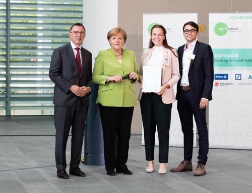 Wir waren dann mal eben in Berlin und habenAngela Merkelgetroffen!